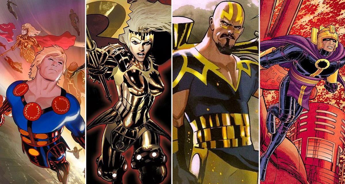 The Eternals New Set Photos Reveal 1st Intriguing Look at Kingo And Sprite