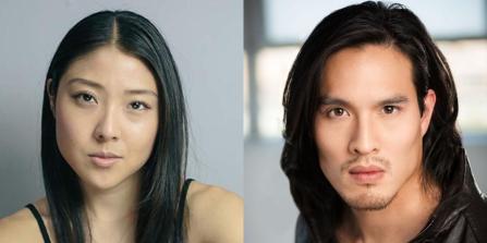 Miki Ishikawa and Desmond Chiam