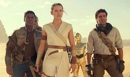 the rise of skywalker cut scenes
