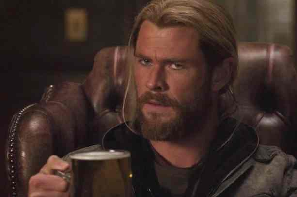 Thor Pondering Christian Bale