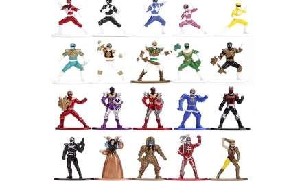 Jada Toys' Impressive Metallic Power Rangers Metalfig Set Is Here for Pre-Order