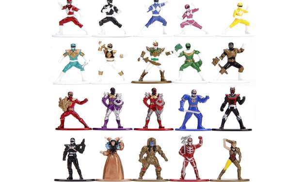 Jada Toys' Impressive Metallic Power Rangers Metalfig Set Is Here for Pre-Order