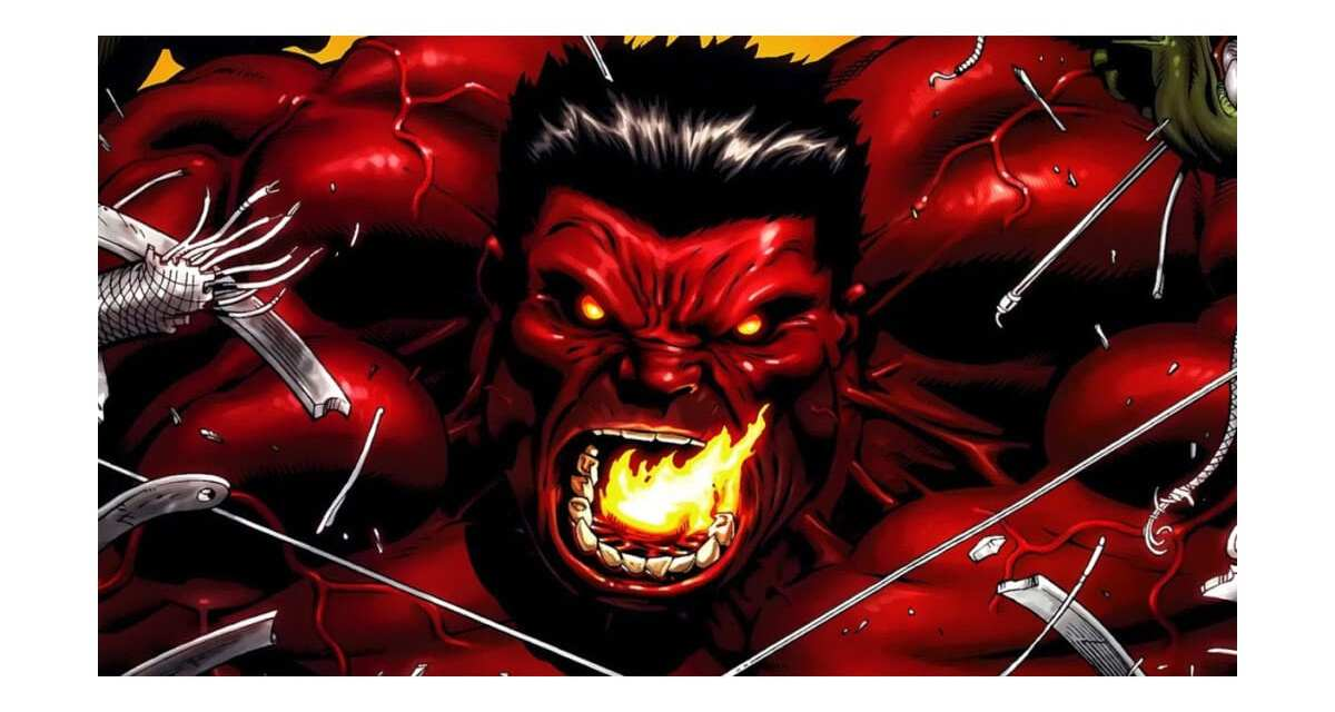 The Savage Red Hulk Rumored to Join The MCU Soon