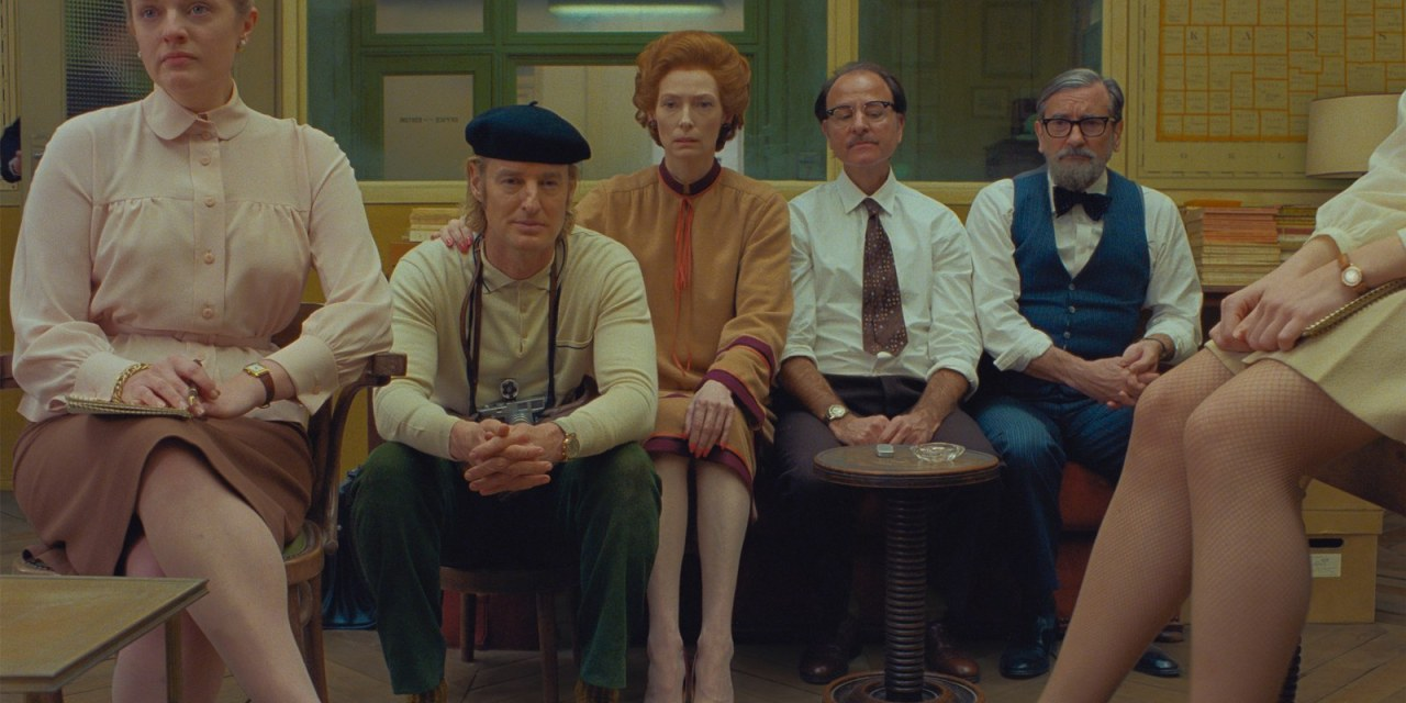 1st Jaw-Dropping Look at Wes Anderson's The French Dispatch