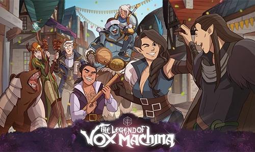 critical role presents the legend of vox machina