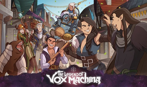 critical role presents the legend of vox machina