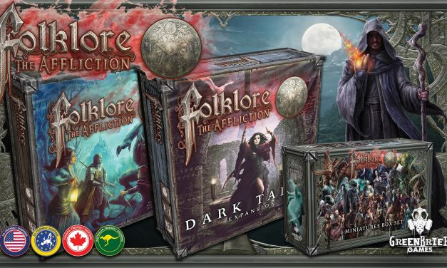 Folklore: The Affliction – An Essential Board Game Review UPDATE: Kickstarter campaign ends today!
