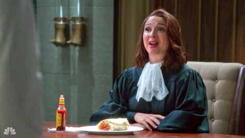 Judge in The Good Place