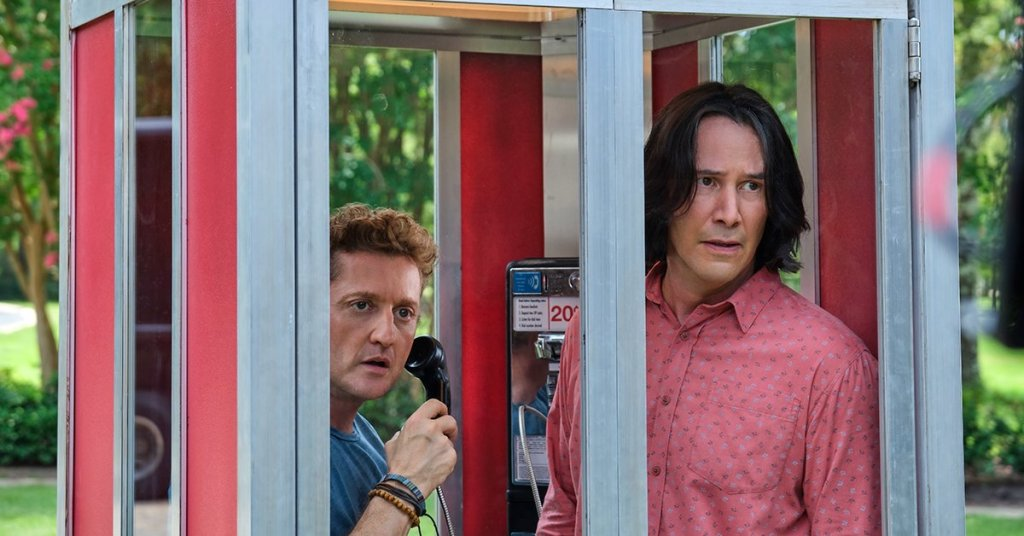 bill and ted 3 still