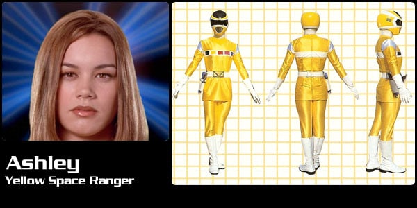 Yellow Space Ranger Lightning Collection?