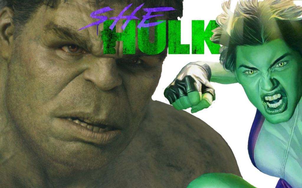 She-Hulk Bruce Banner banner The Illuminerdi