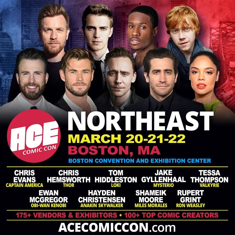 Ace Comic Con 2020 Lineup