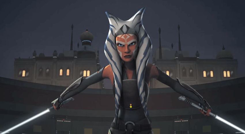 animated ahsoka tano