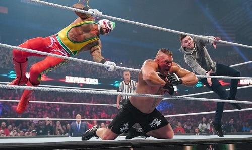 WWE Rey Mysterio vs Brock Lesnar