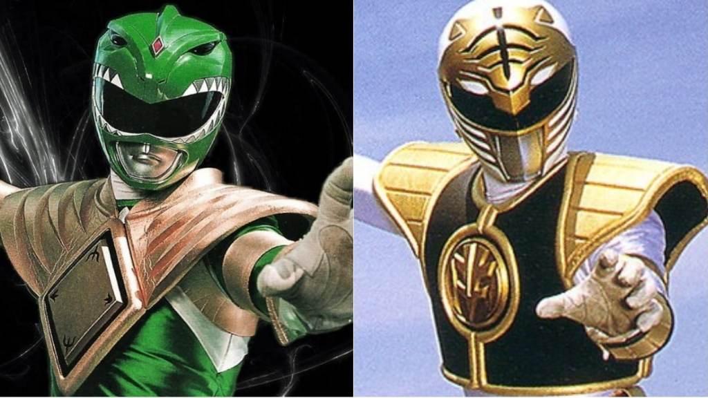White Ranger and Green Ranger