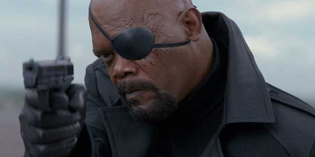 nick fury appearance