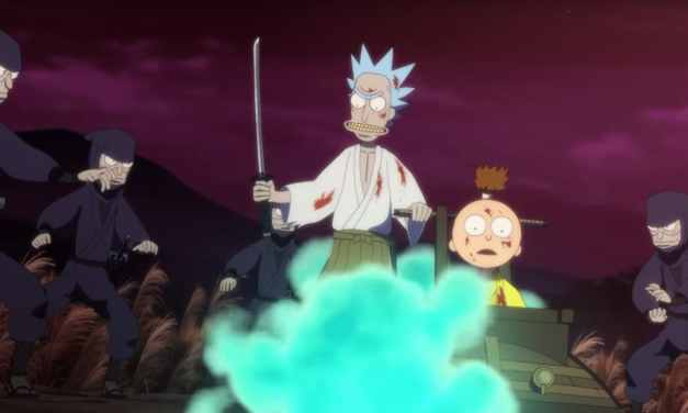 Samurai & Shogun Introduces Rick and Morty Fans To Rick-WTM72 in Free Short Film Available Now