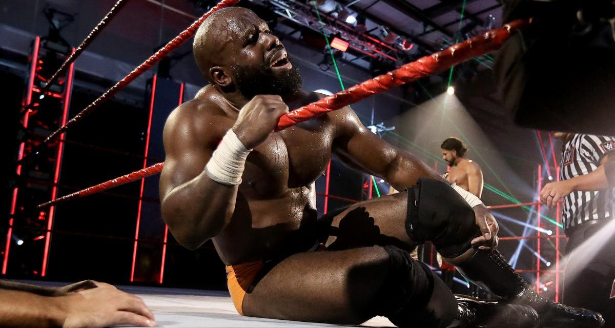 "Apollo Crews Pulled From MITB Match Due To A ""Knee Injury"""