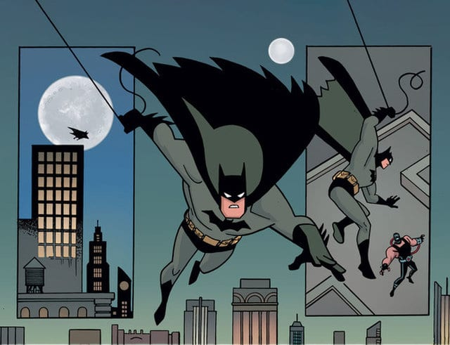 Batman-the-adventures-continue-vs-bane