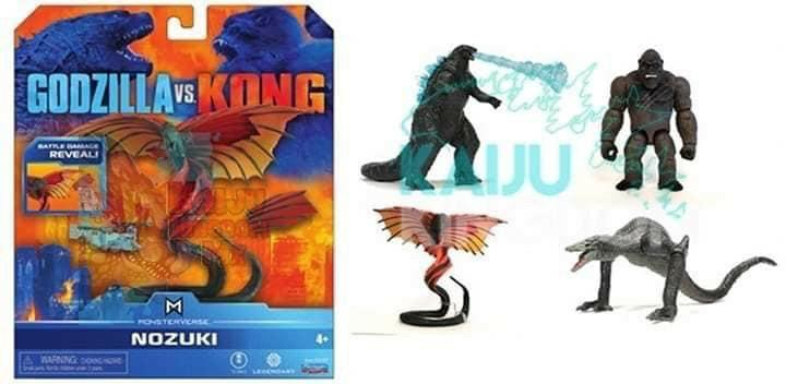 Godzilla Vs Kong Leaked Toys Reveal Some Potentially Major Spoilers And A New Titan! - The Illuminerdi