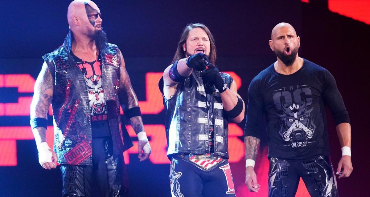"""AJ Styles """"Devastated"""" By The Release Of Luke Gallows And Karl Anderson"""