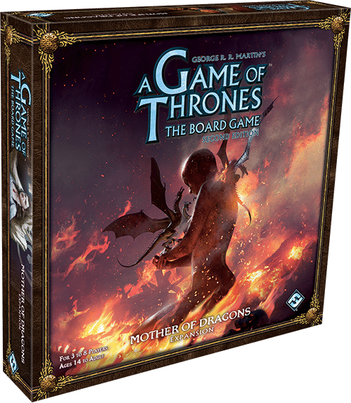 Mother of Dragons Expansion Box Art