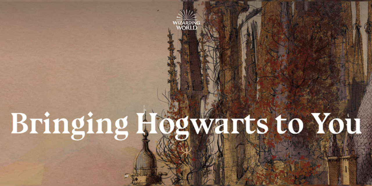 J.K. Rowling Launches The Harry Potter At Home Program