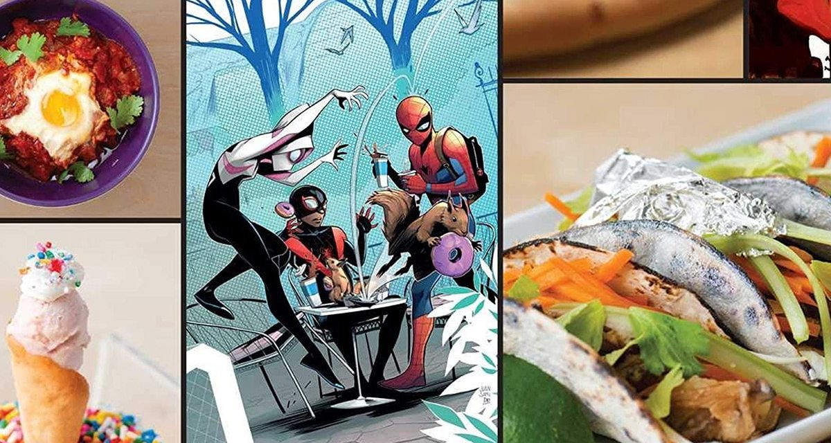 New Marvel Cookbook Release Highlighting…Venom Tongues?