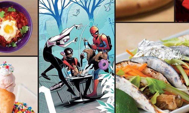 New Marvel Cookbook Release Highlighting…Venom Tongues?