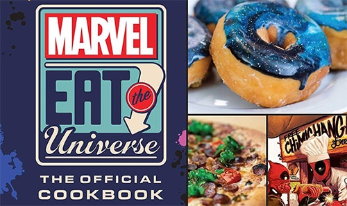 marvel eat the universe cookbook