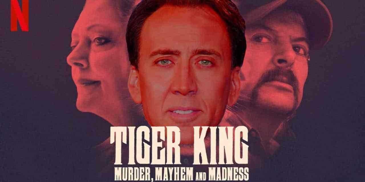 Nicolas Cage To Get Weird As Joe Exotic In New Tiger King Series