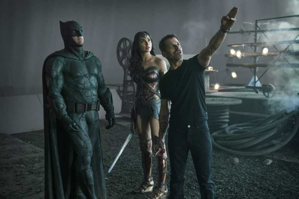 zack snyder directs Justice League