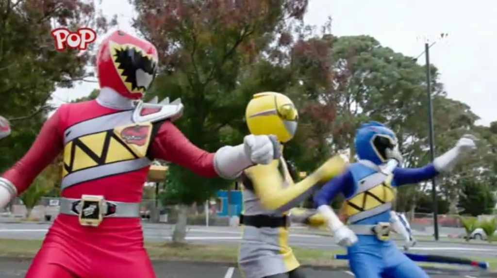 beast morphers dino charge team up ]