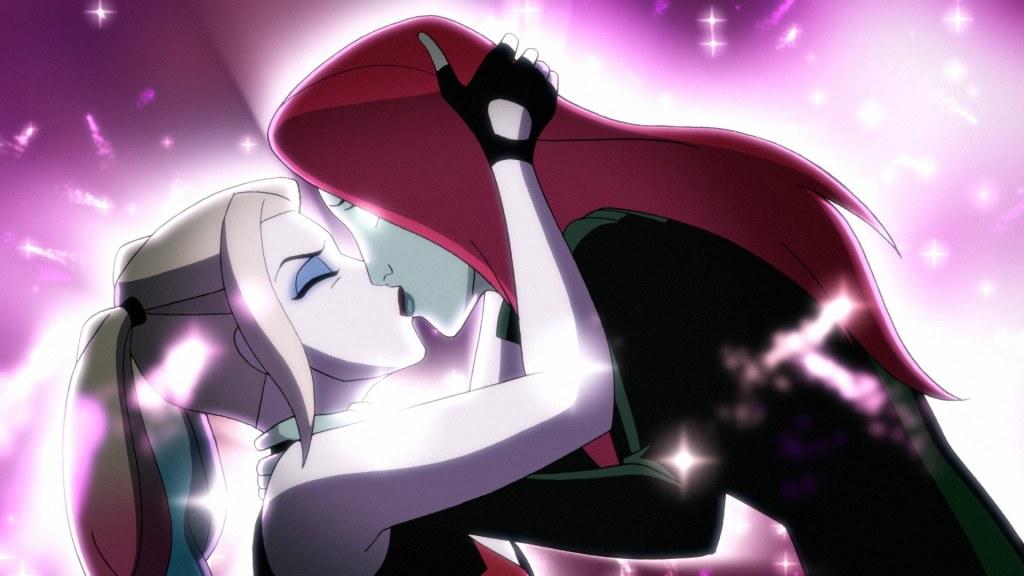 Harley Quinn and Ivy Kiss