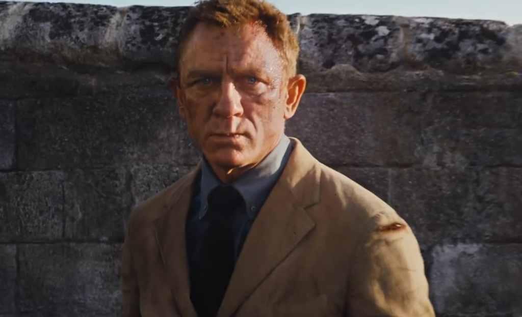James Bond Daniel Craig No Time To Die Beaten