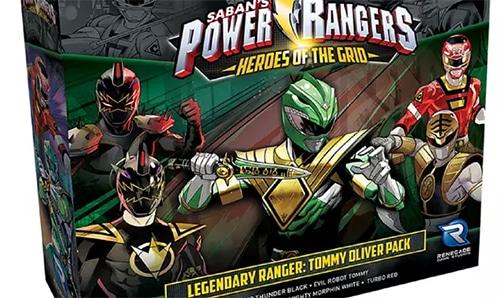 power rangers board game
