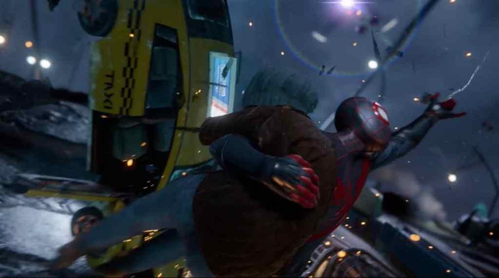 spider-man miles morales Teaser Trailer Money Shot