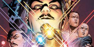 Marvel Comics Illuminati Cover