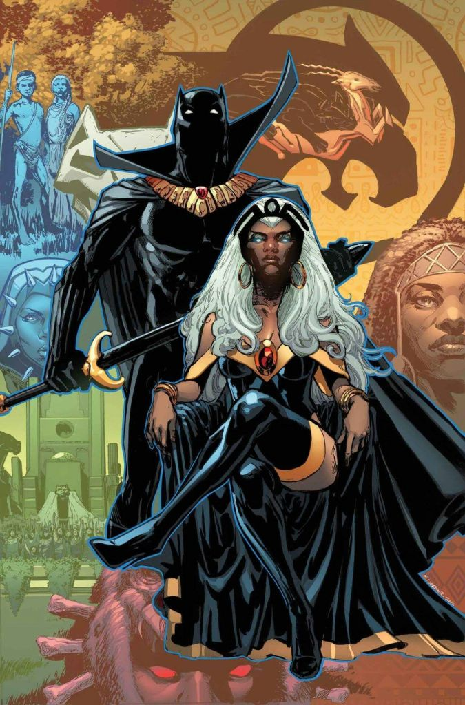storm black panther Marvel Comics