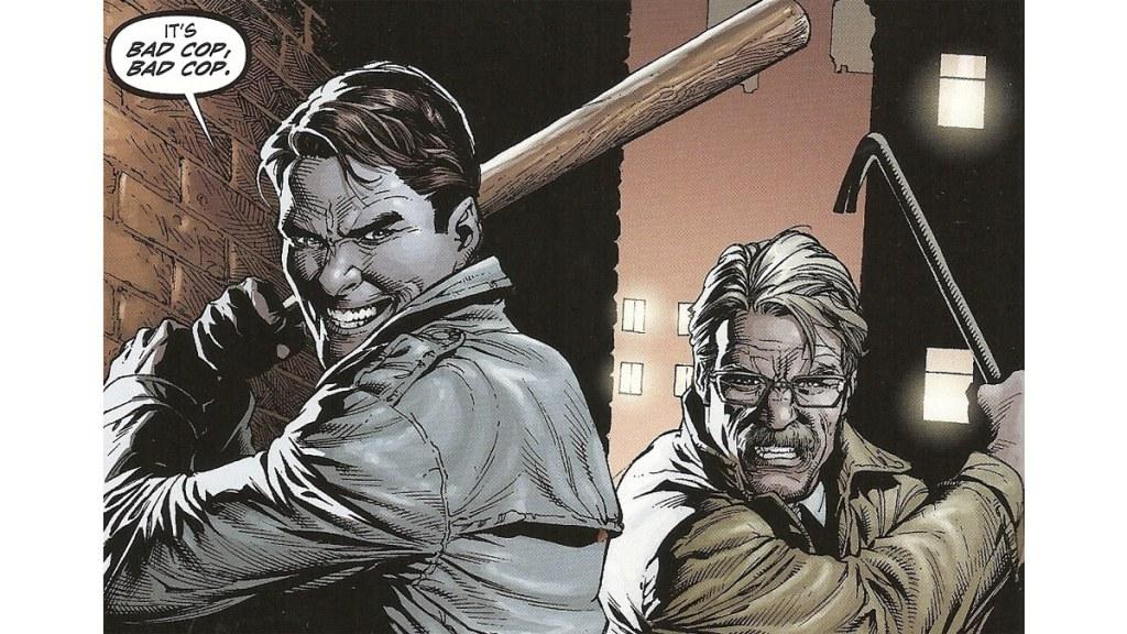 The Batman Spin-Off Gotham Central Bad Cops Jim Gordon