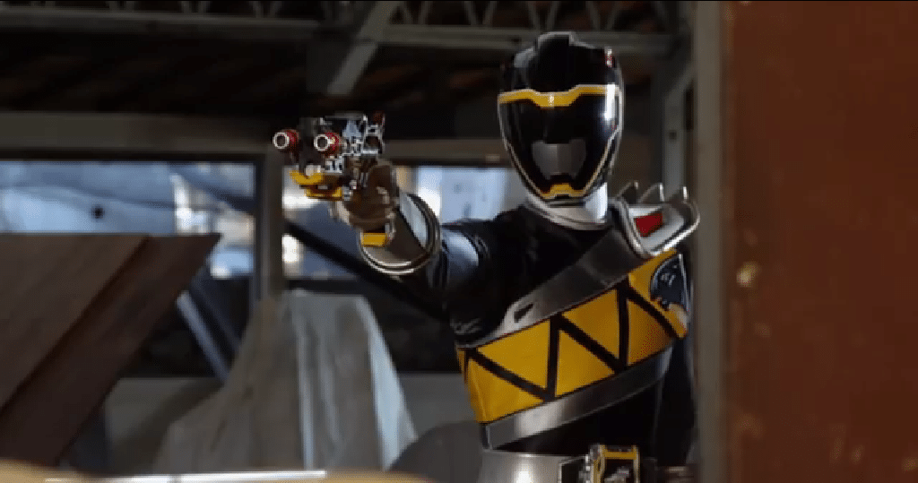 dino charge black lightning collection