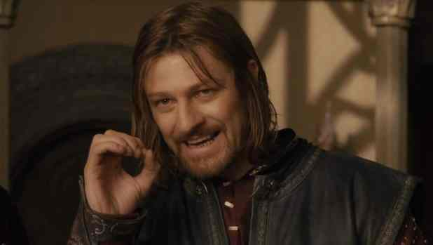 sean bean in lord of the rings