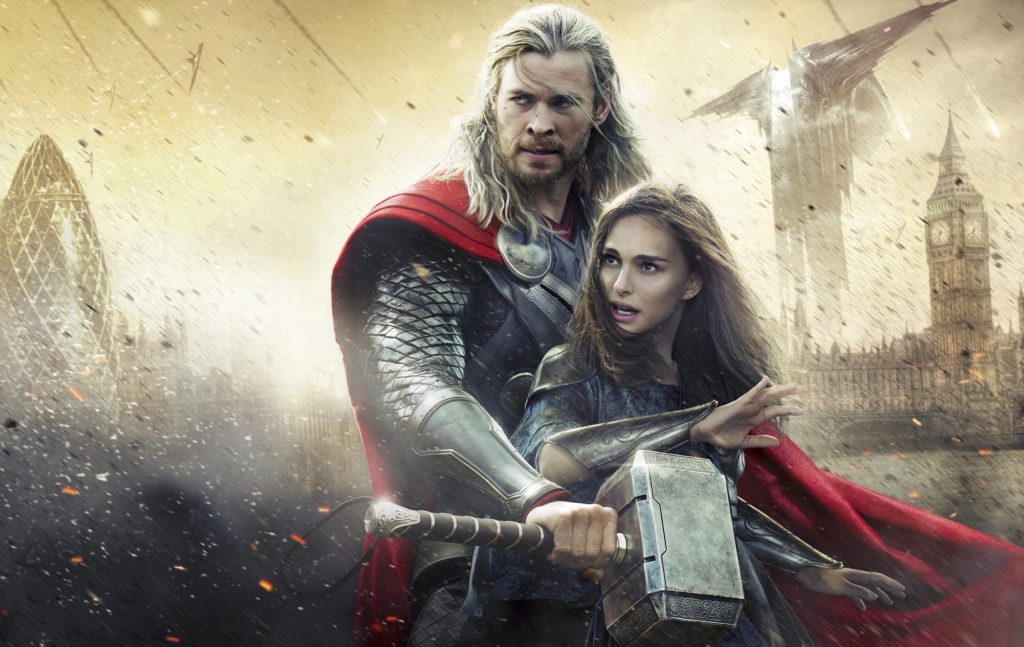 Thor Natalie Portman Chris Hemsworth