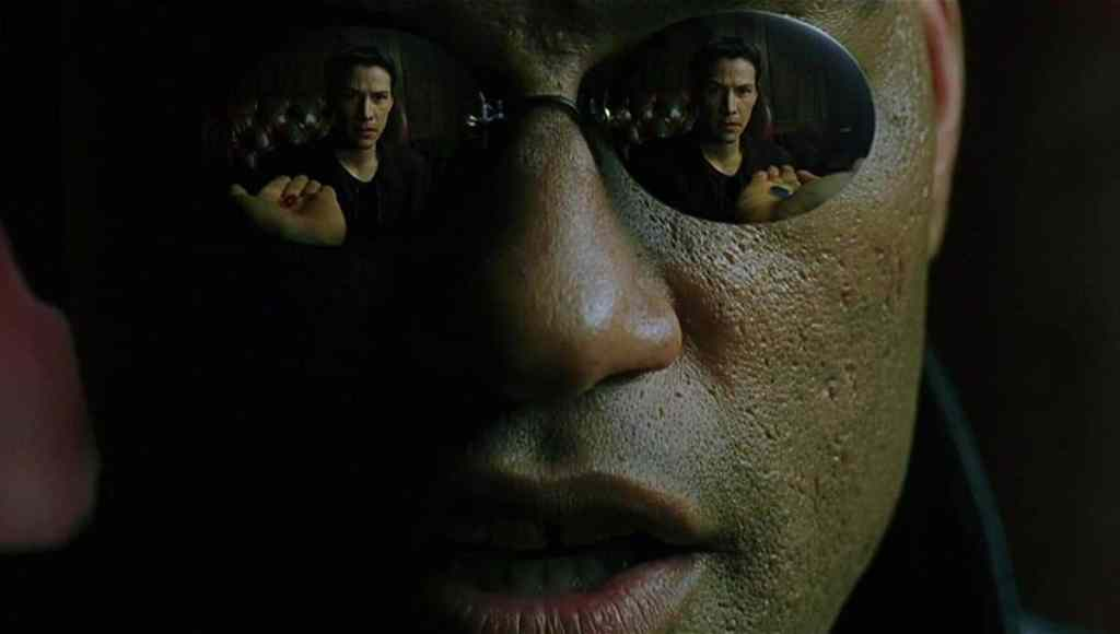 Morpheus Red Pill Blue Pill The Matrix Laurence Fishburne