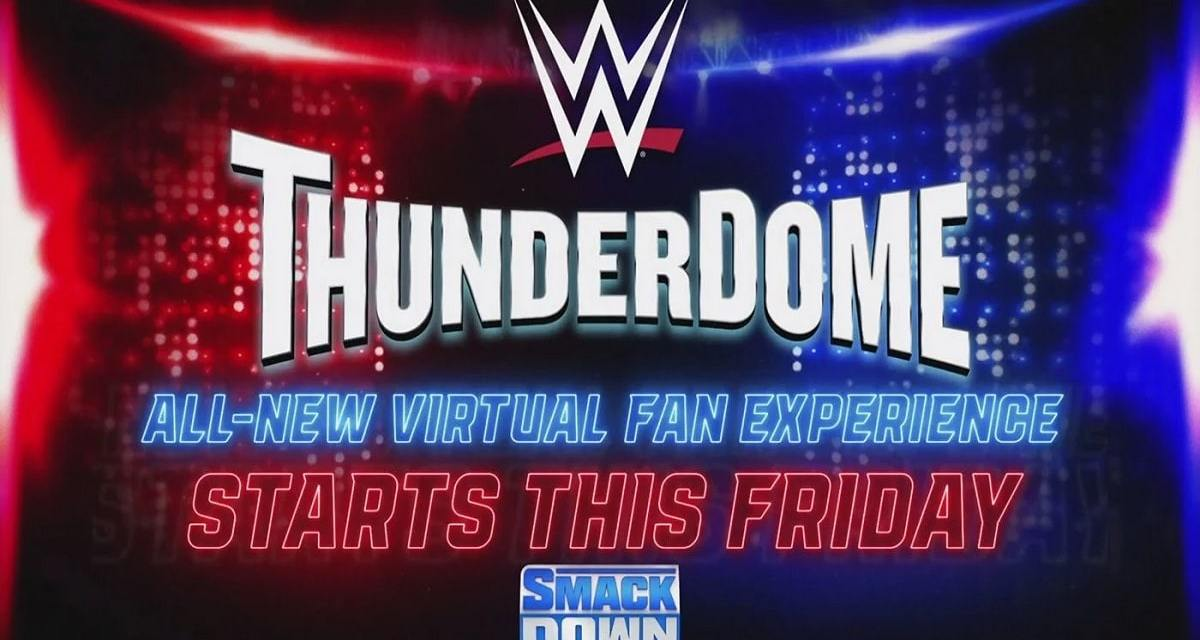Two Men Enter; One Man Leaves WWE's New ThunderDome Fan Experience