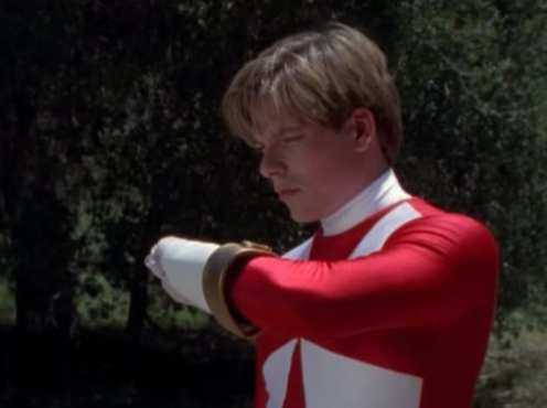 carter grayson red ranger
