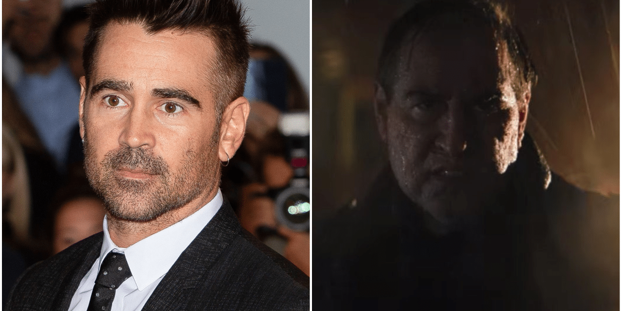 Yes, That Is Colin Farrell as Penguin in The Batman Trailer