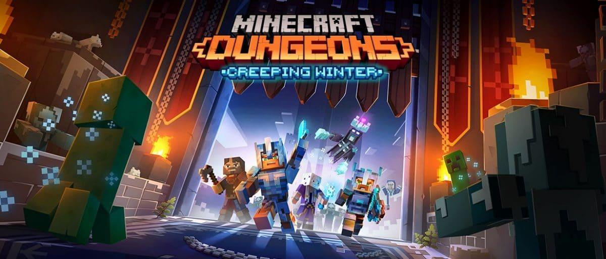 Minecraft Dungeons' New DLC, Creeping Winter, Coming Next September