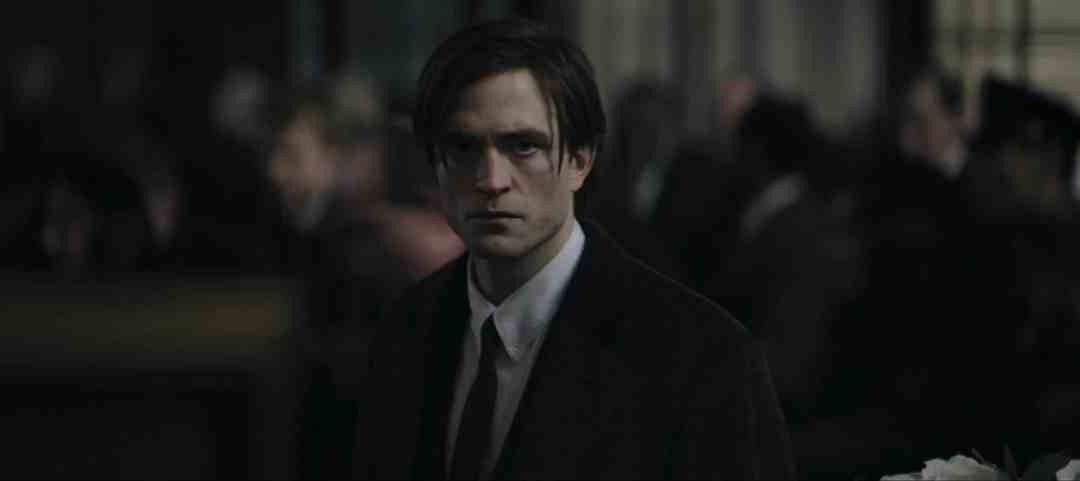 robert pattinson as bruce wayne