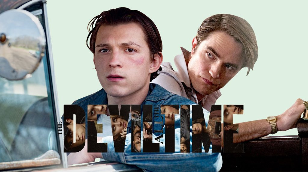 The Devil All The Time Header Holland Pattinson